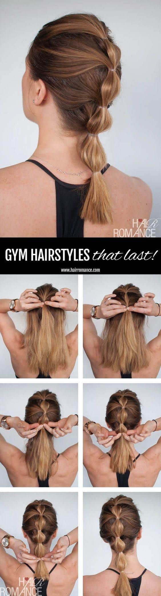 20 perfect swimming hairstyles - girl loves glam