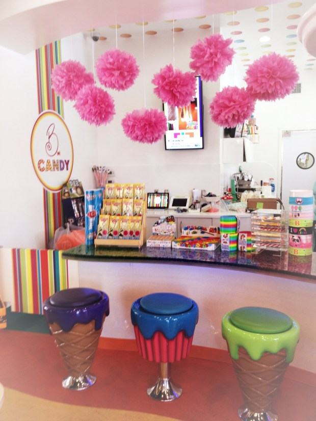 B Candy Cupcake Wonderland | Girl on the Move Blog