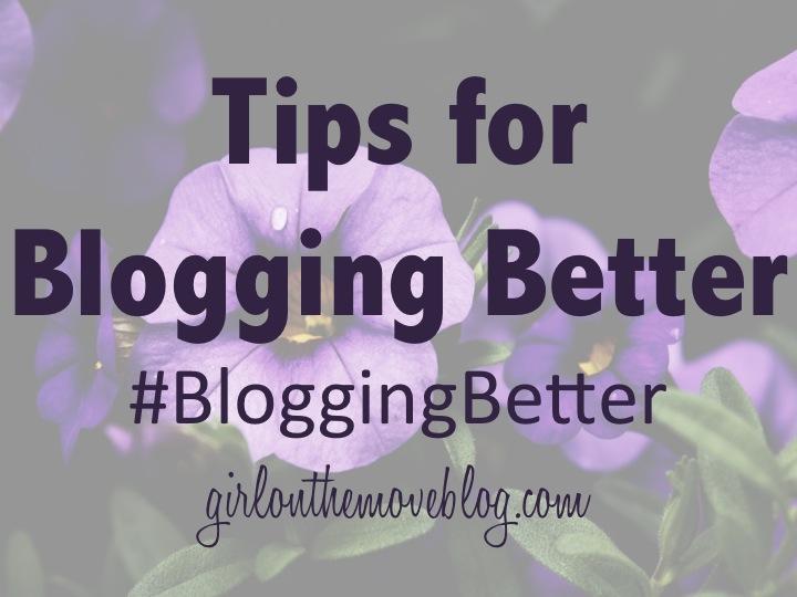Blogging Better 1