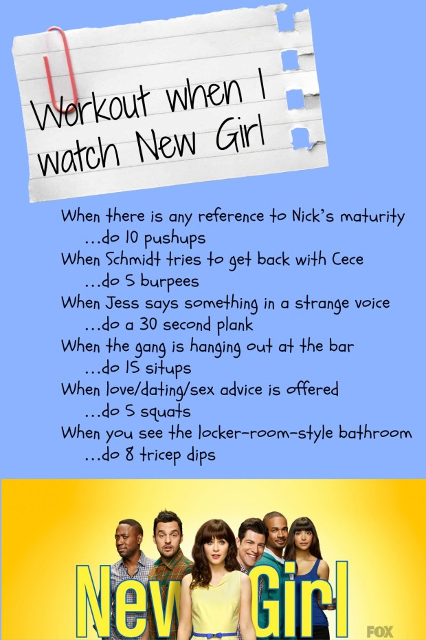 New Girl Workout