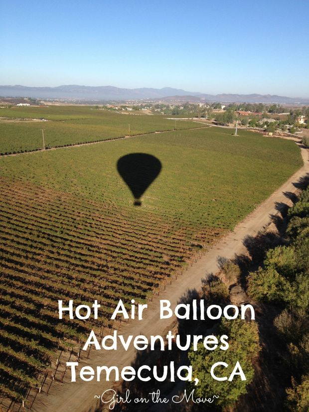 Hot Air Balloon Adventures in Temecula, CA