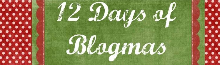 12 days of christmas blog series