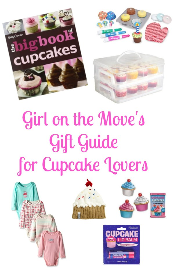Gift Guide for the cupcake lover in your life