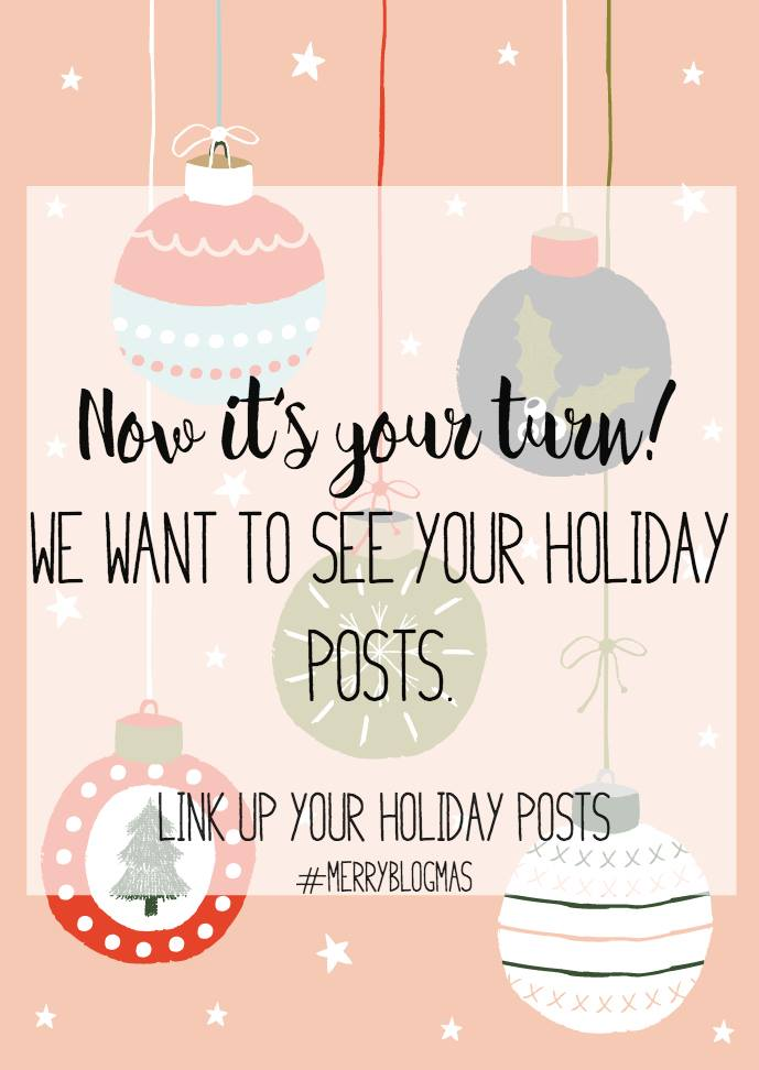 We've shared lots of amazing Christmas ideas with you and now we want to see all of your fabulous Christmas posts in this Holiday Blog Linkup!