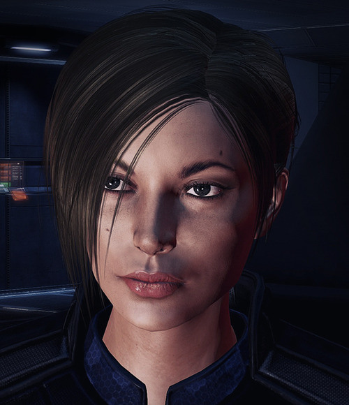 Not sure what name Kanihime's perfect Shepard goes by, but she's gorgeous!