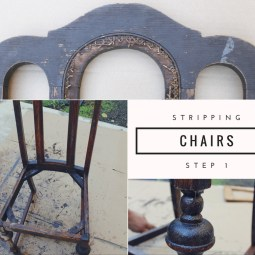 Stripping chairs