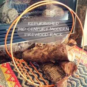 refurbished Mid century modern firewood rack (1)