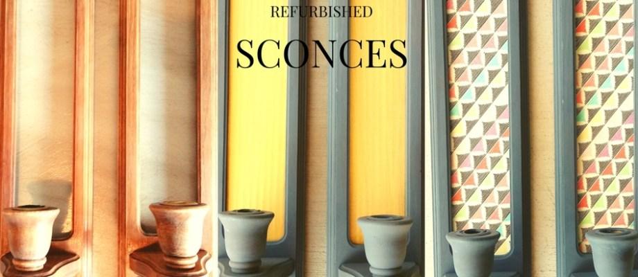 Refurbished Sconces