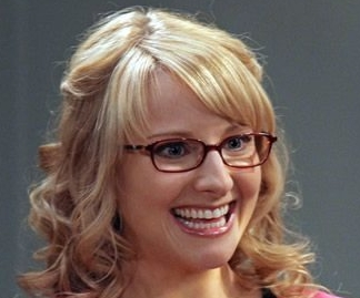 Mellsa Rauch starring as Bernadette in Big Bang Theory