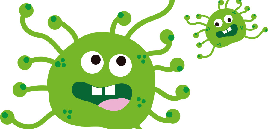 cartoon virus covid-19