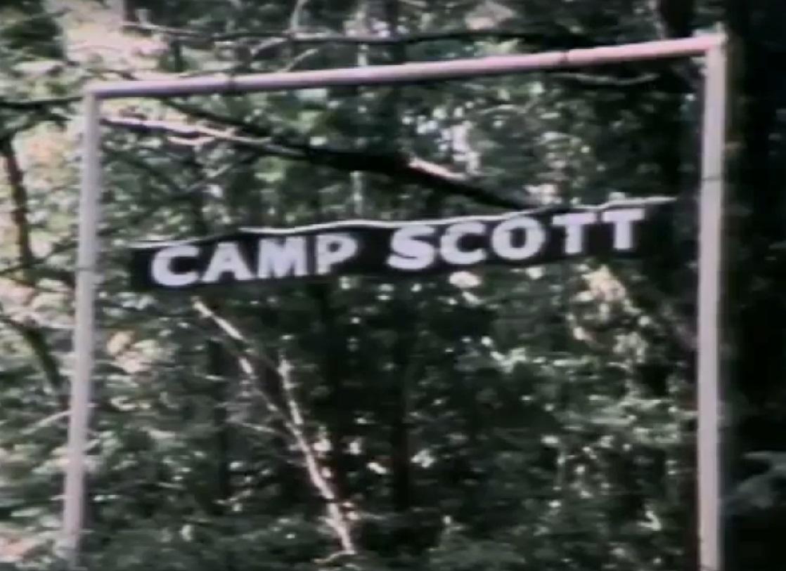 """Image result for """"Camp Scott""""sign"""