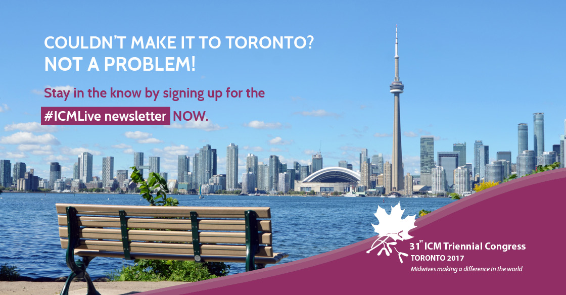 Sign Up to #ICMLive Newsletter