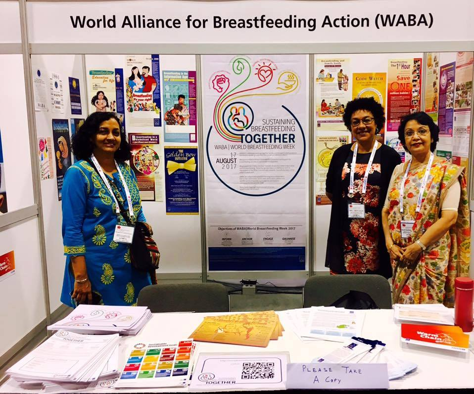Follow World Breastfeeding Week on Facebook