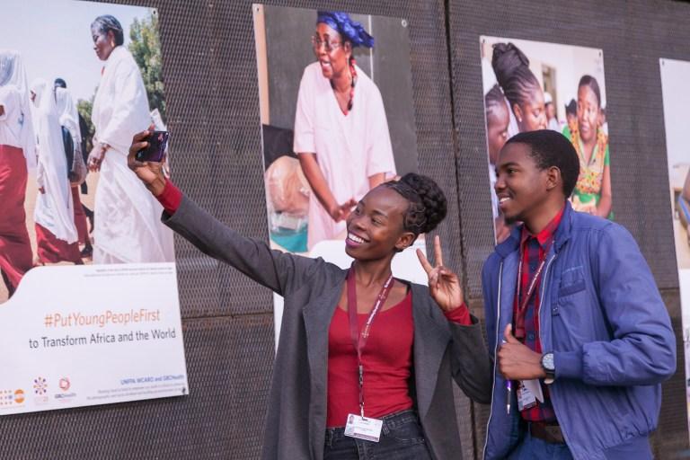Grassroots activists at the Nairobi Summit on ICPD25