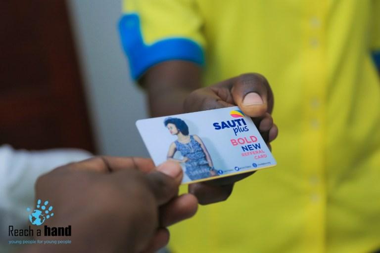 Sautiplus card - Information on Gender based Violence