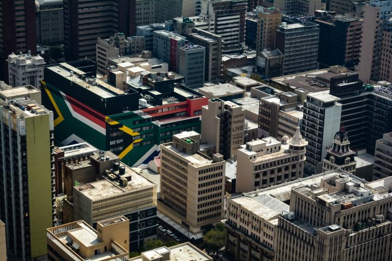 Johannesburg. Women's Month in South Africa.