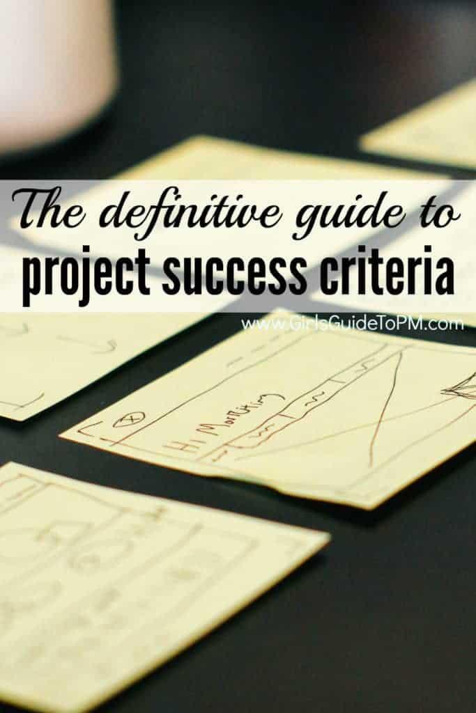 Descubra cómo evaluar el éxito de su proyecto revisando cómo se va a juzgar su proyecto