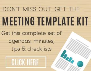 Plantilla de actas de reuniones y más