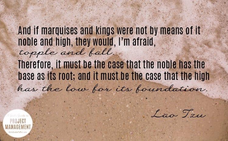 Cita de Lao Tzu