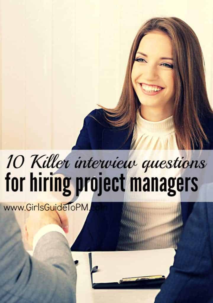 Aquí hay 10 preguntas fantásticas de la entrevista para contratar a un gerente de proyecto para su equipo #projectmanagement