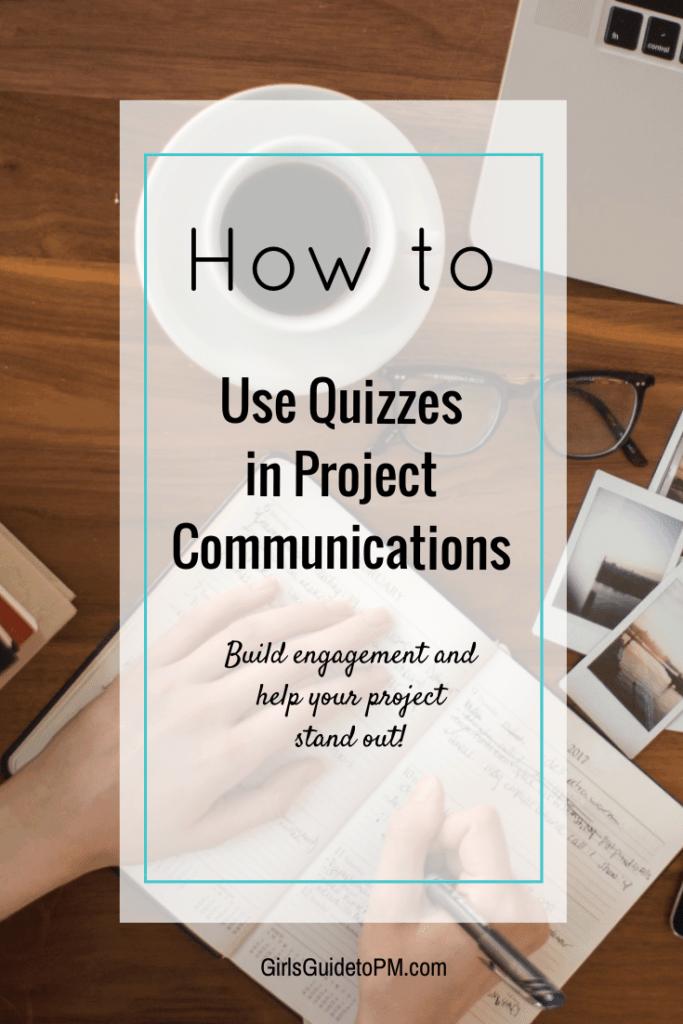 Cómo usar cuestionarios en Project Communications