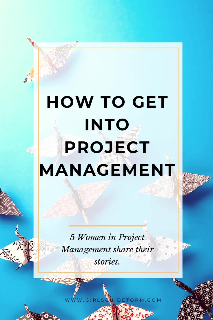 Cómo ingresar a la gestión de proyectos