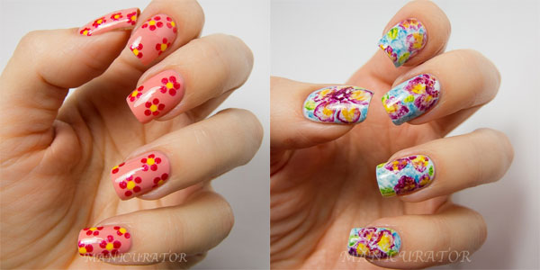15 Easy Simple Spring Flower Nail Art Designs Trends Ideas 2017 Shue
