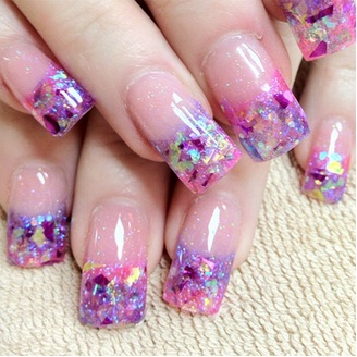 Acrylic Nail Art Designs 22