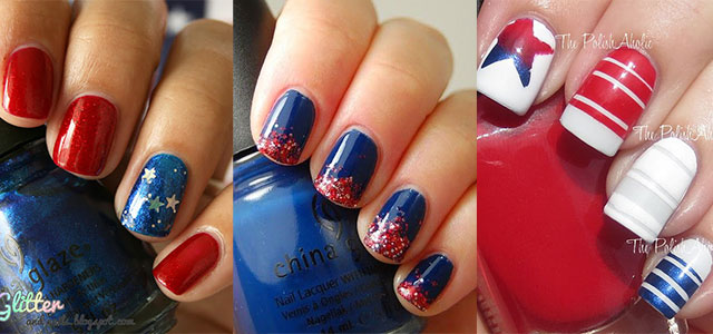 15 Easy 4th Of July Nail Art Designs Ideas Trends 2017 Fourth Nails Shue
