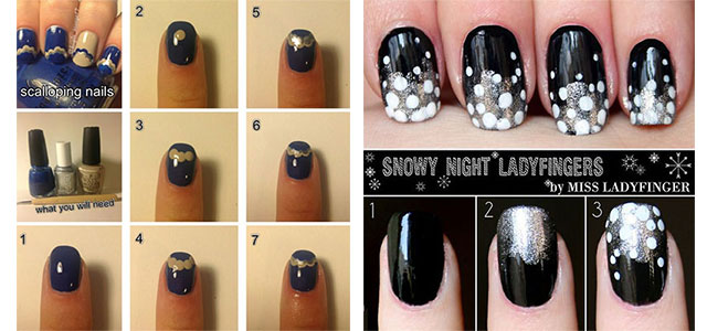 25 Very Easy Simple Step By Nail Art Tutorials For Beginners Learners 2017 Shue