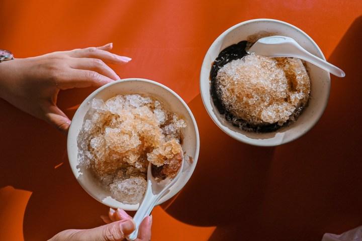 【高雄冰店】黃家粉圓冰:北部吃不到的銅板價10元,古早味濃厚香氣勾起童年滿滿回憶。 @女子的休假計劃