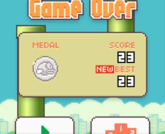 Flappy Bird near-global domination
