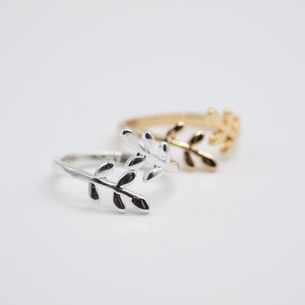 RNG-003 boho ring goud zilver