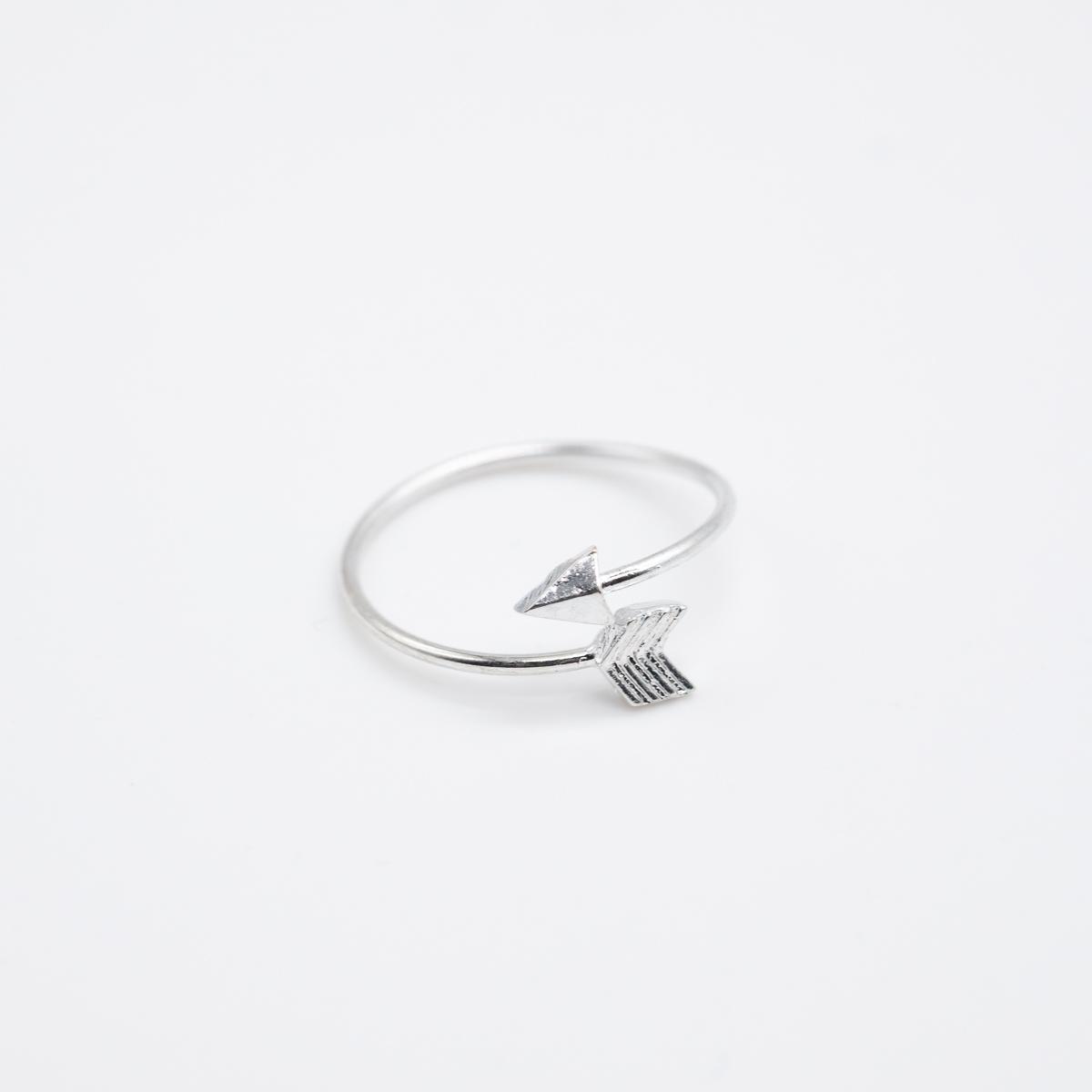 RNG-004 boho ring pijl zilver