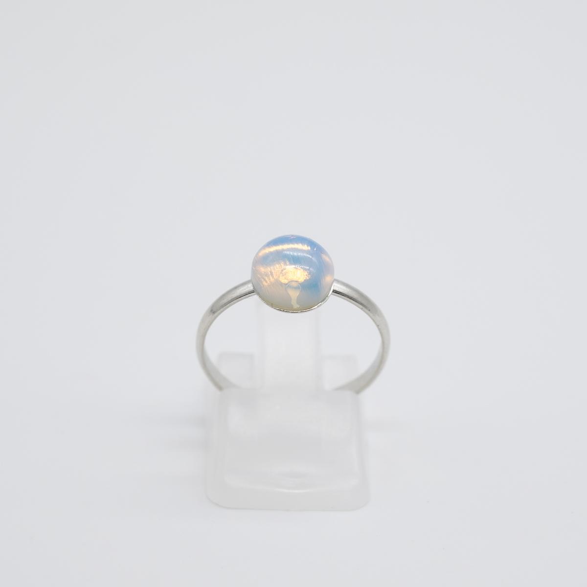 RNG-016 opaliet zilver ring