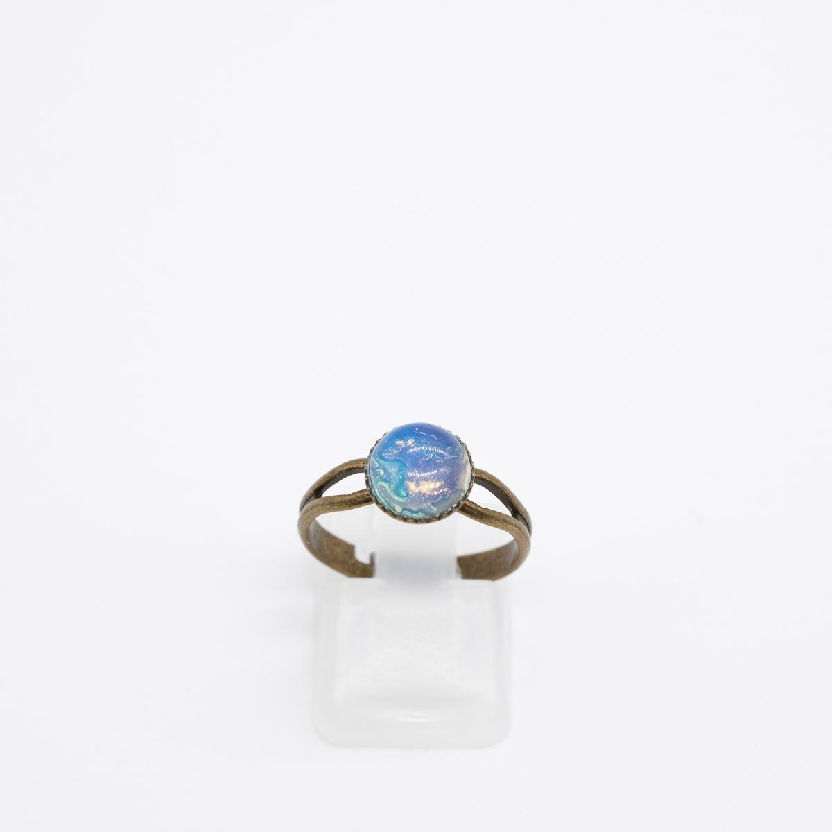 RNG-016 ring opaliet brons