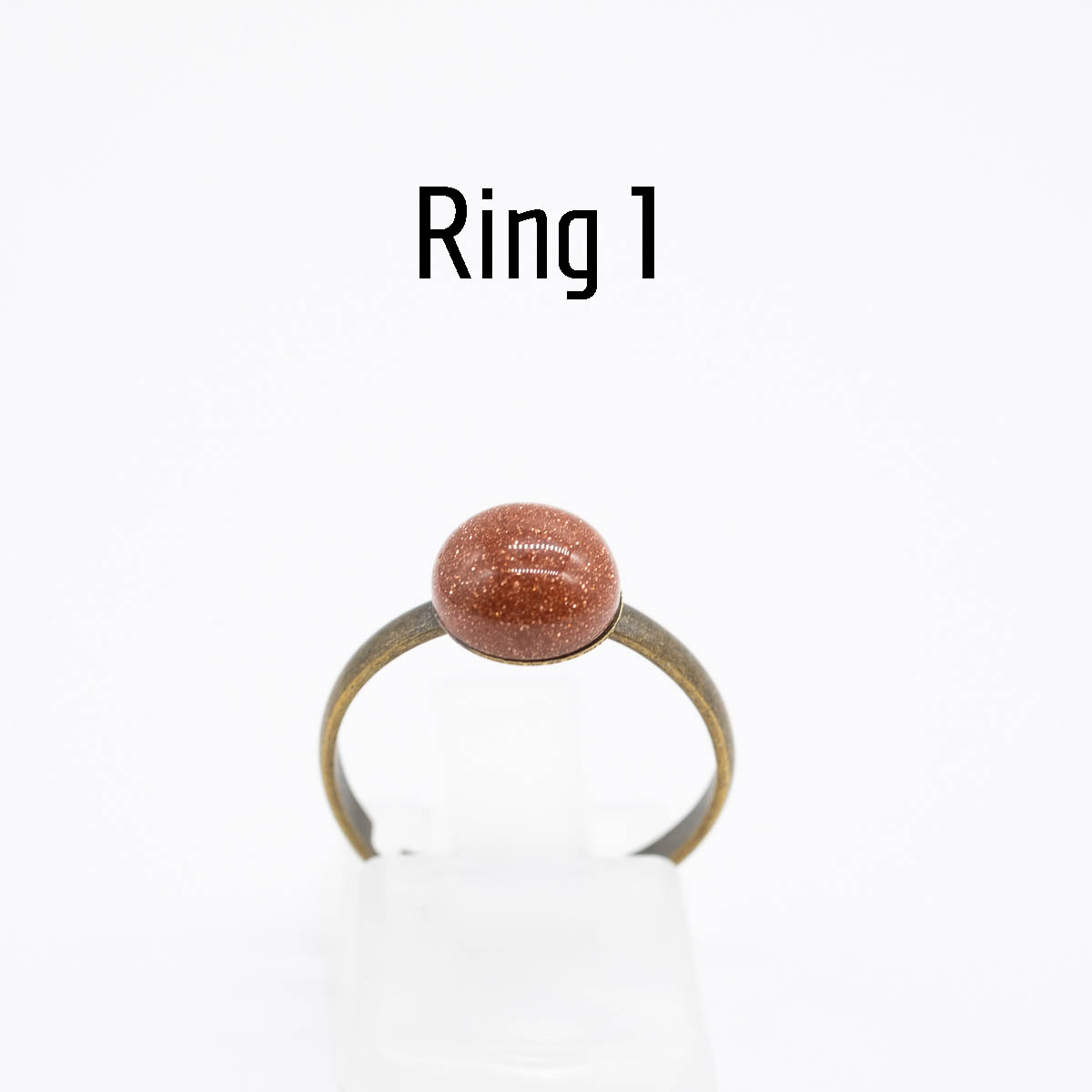 RNG-017 goudsteen ring type 1