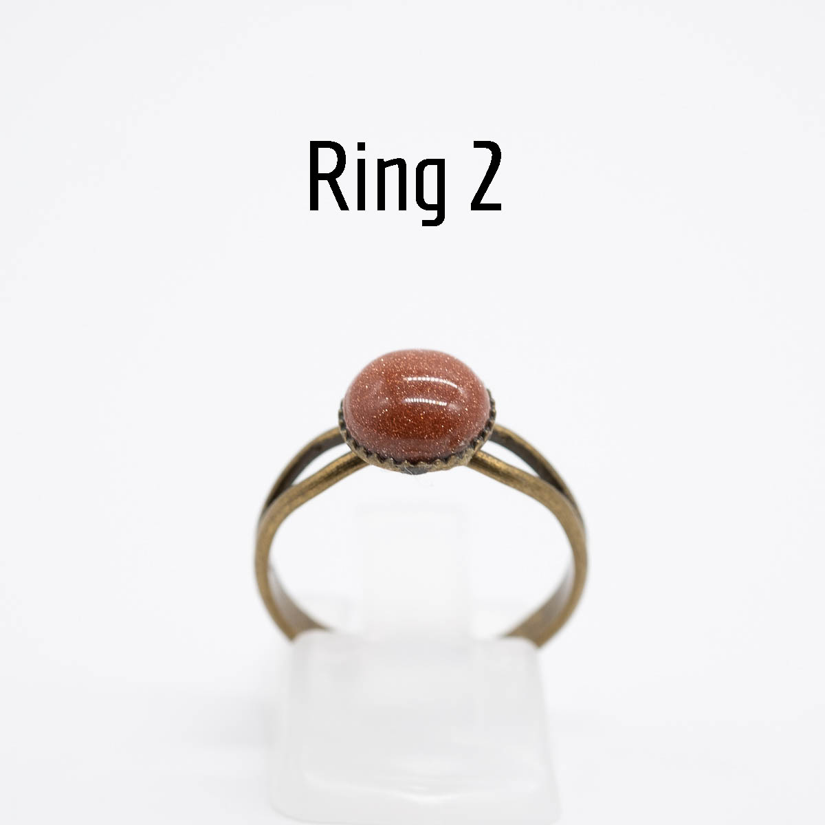 RNG-017 goudsteen ring type 2