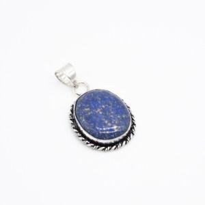 zilveren hanger lapis lazuli online kopen webshop