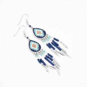 Native american oorbellen