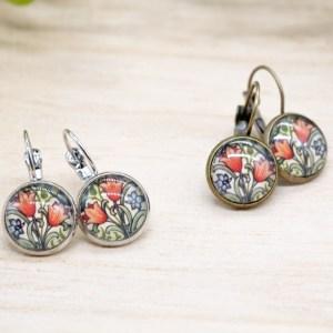 handgemaakte vintage victorian oorbellen kopen online webshop