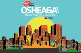 Osheaga 2014 Logo and Keyart © Evenko