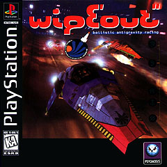 WIPEOUT PLAYSTATION