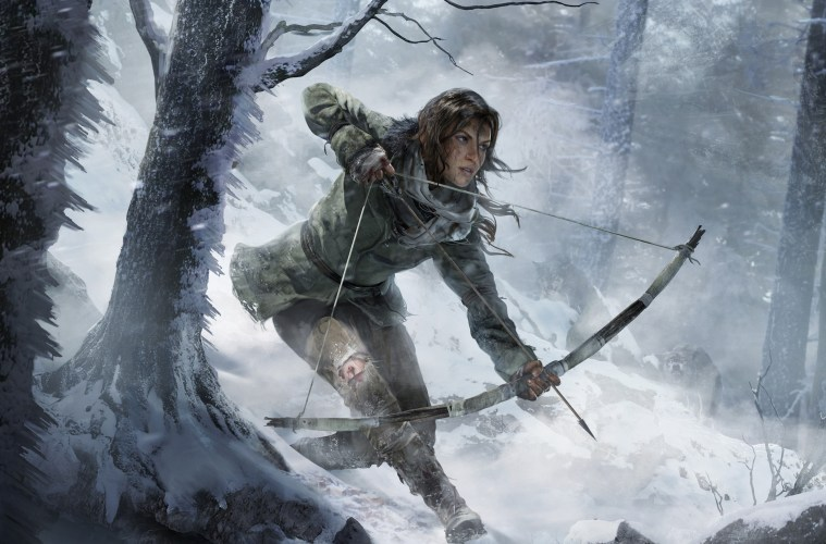 Rise of the Tomb Raider Art