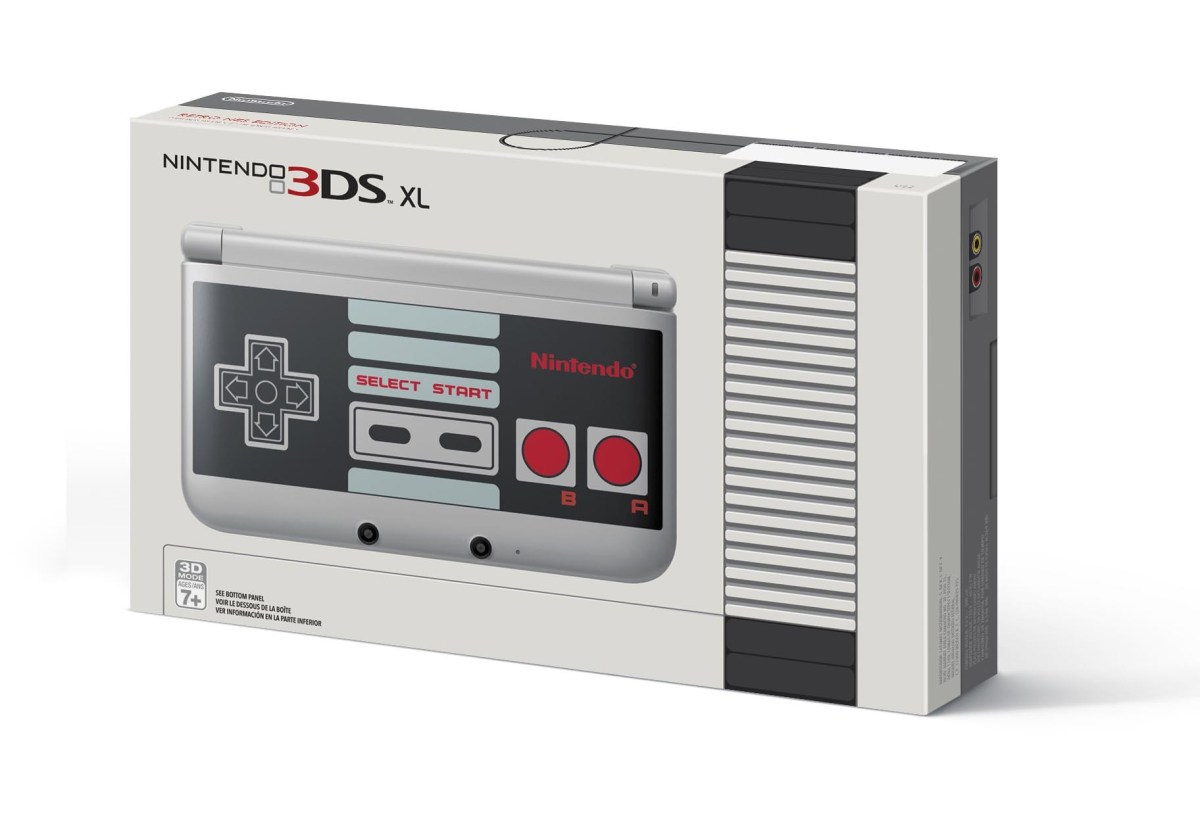 NES themed 3DS XL © Nintendo