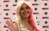 Meg Turney, host of Rooster Teeth's The Know at Fan Expo.