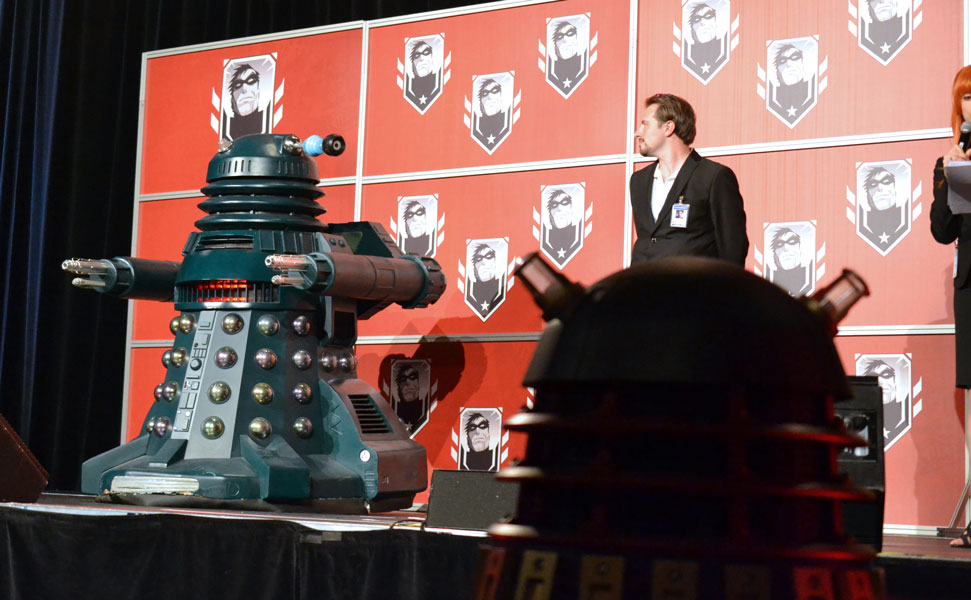 Daleks invade the Masquarade © Girls on Games / Catherine Smith-Desbiens