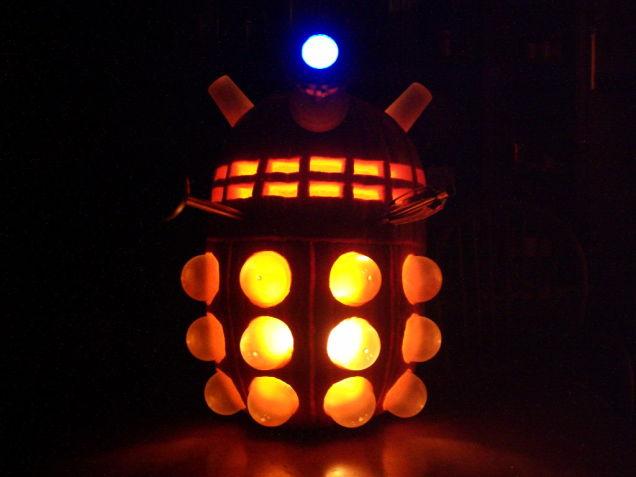 Dalek Pumpkin