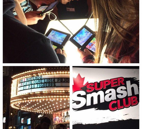 Super Smash Club Event at the Rialto Theatre © Leah Jewer / Girls on Games