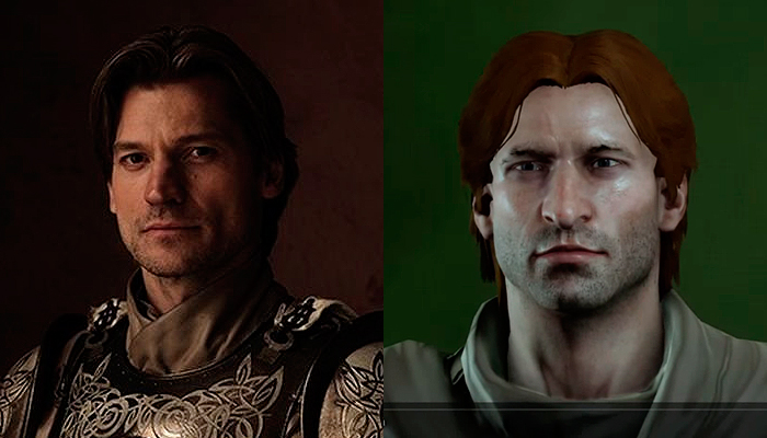 Jaime Lannister from Game of Thrones Inquisitor.
